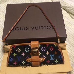 Louis Vuitton Shirley Black/Multicolor